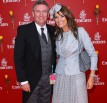 Celebrities Attend Emirates Melbourne Cup Day - Eddie & Carla McGuire