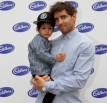 Vincent Fantauzzo and his son Luca