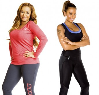 Mel B - Before and After