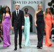 SYDNEY, AUSTRALIA - AUGUST 08:  (L-R) Jessica Gomes, Anwar Hadid, Adut Akech, Karolina Kurkova and Victoria Lee walk in the finale of the David Jones Spring Summer 18 Collections Launch at Fox Studios on August 8, 2018 in Sydney, Australia.  (Photo by Mark Metcalfe/Getty Images for David Jones) *** Local Caption *** Jessica Gomes; Anwar Hadid; Adut Akech; Karolina Kurkova; Victoria Lee