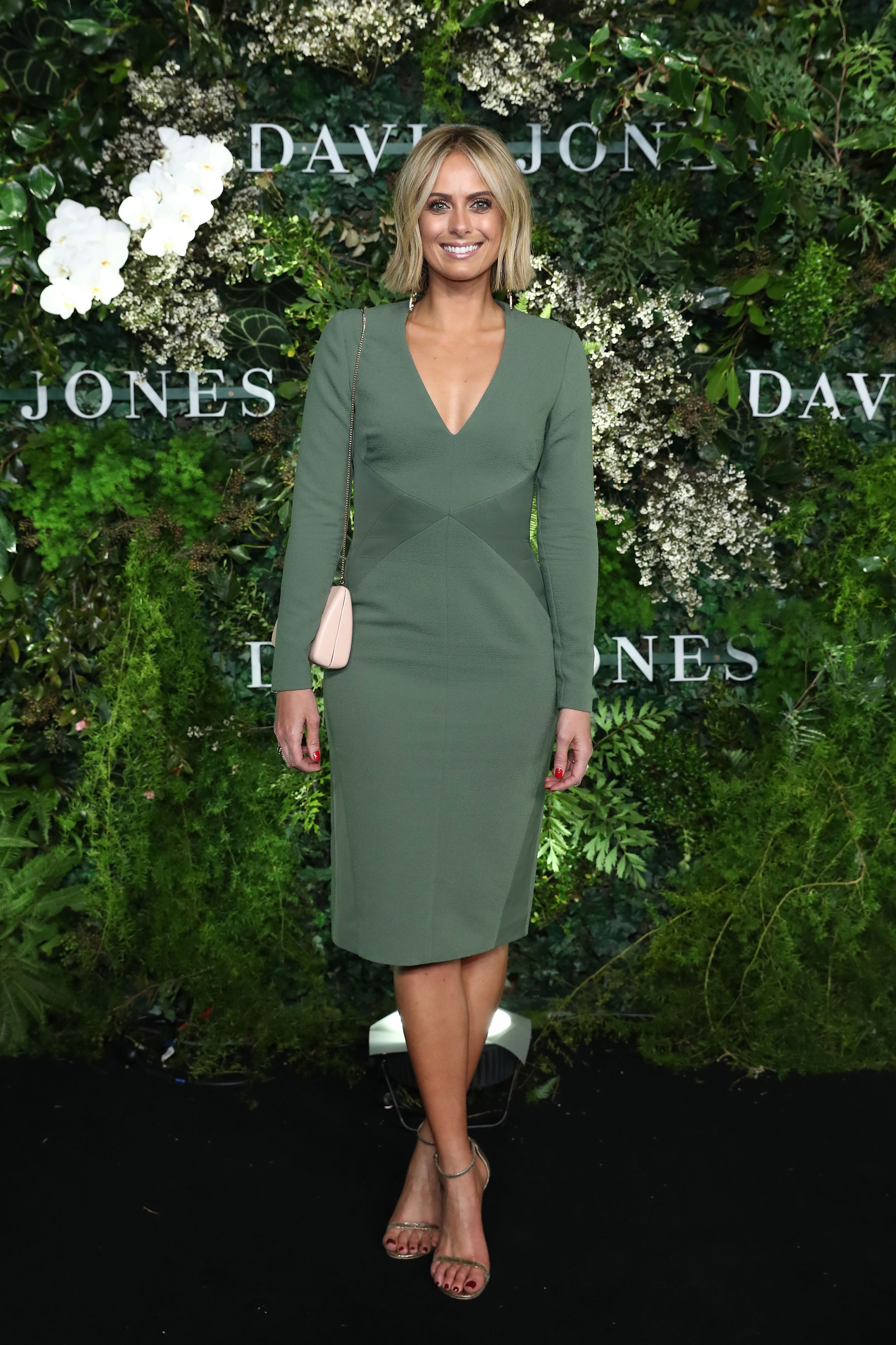 SYDNEY, AUSTRALIA - AUGUST 08:  Sylvia Jeffreys attends the David Jones Spring Summer 18 Collections Launch at Fox Studios on August 8, 2018 in Sydney, Australia.  (Photo by Mark Metcalfe/Getty Images for David Jones) *** Local Caption *** Sylvia Jeffreys