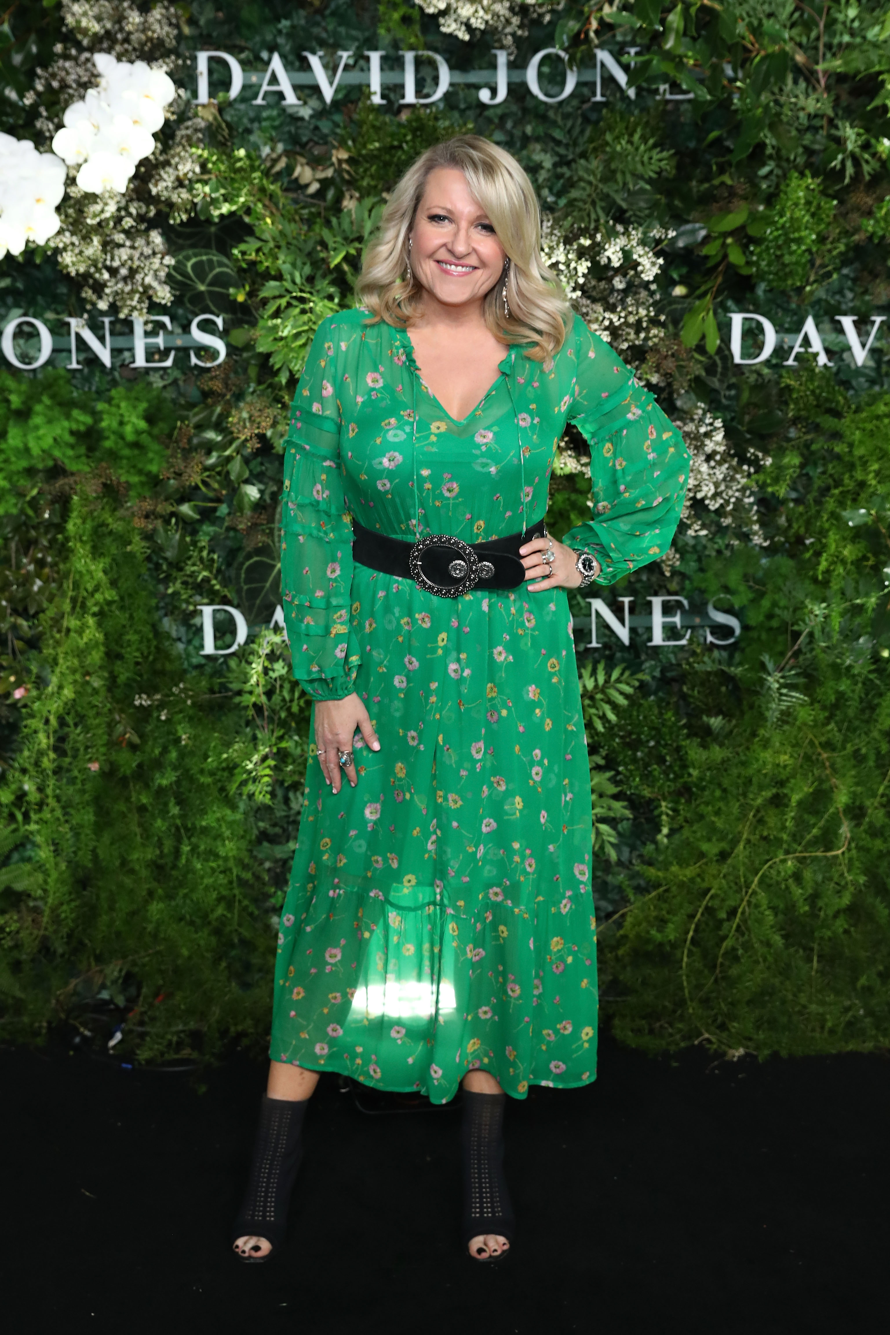 SYDNEY, AUSTRALIA - AUGUST 08: Angela Bishop attends the David Jones Spring Summer 18 Collections Launch at Fox Studios on August 8, 2018 in Sydney, Australia.  (Photo by Mark Metcalfe/Getty Images for David Jones) *** Local Caption *** Angela Bishop