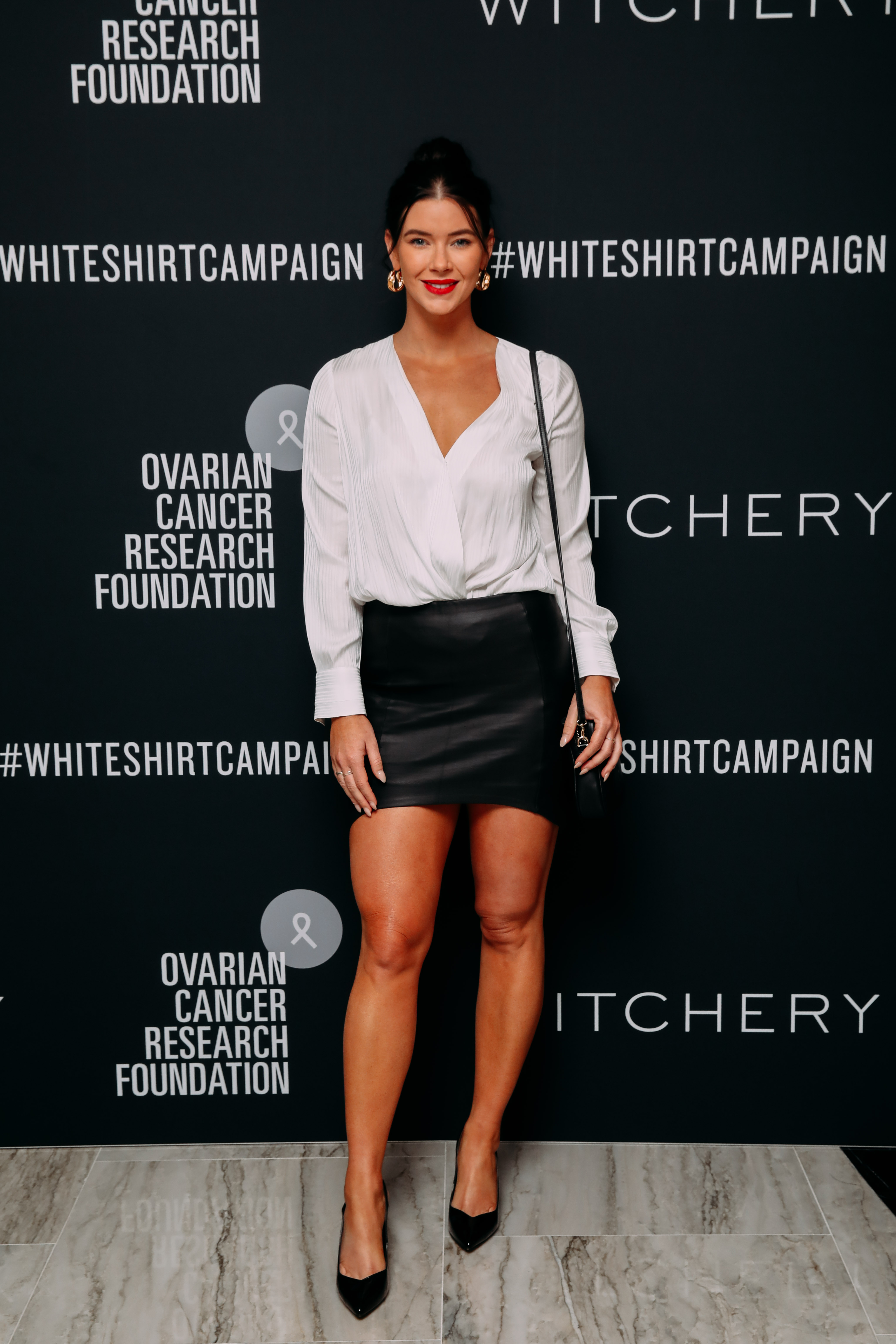 Brittany Hockley at the 2019 Witchery White Shirt Campaign 2