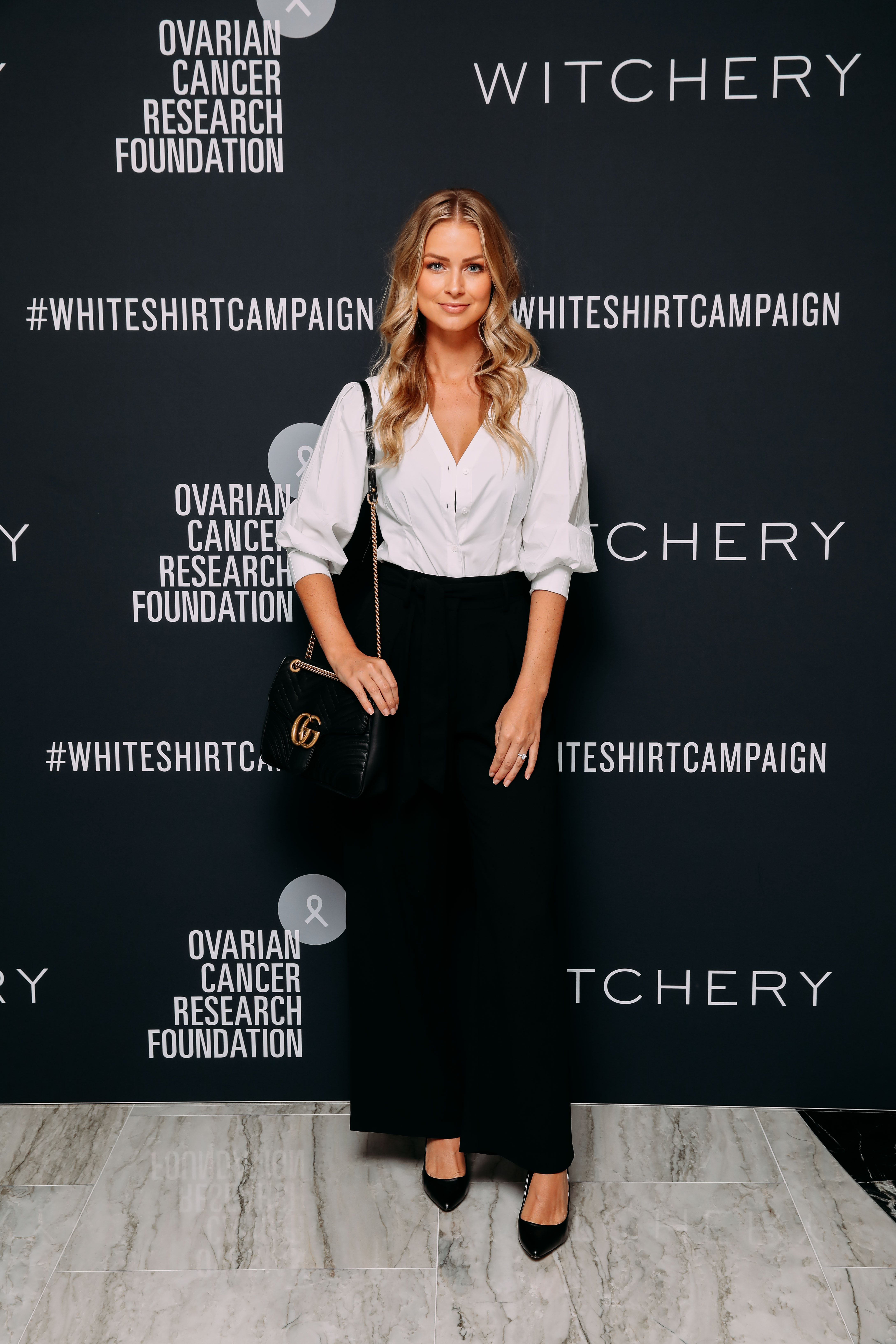Renae Ayris at the 2019 Witchery White Shirt Campaign 2